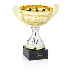 View a larger, more detailed picture of the Scalloped Trophy - 10