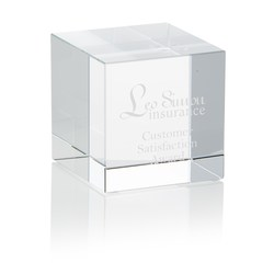 View a larger, more detailed picture of the Crystal Cube Award
