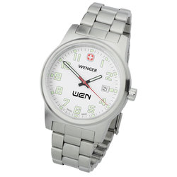 View a larger, more detailed picture of the Wenger Field Watch w Bracelet - Men s