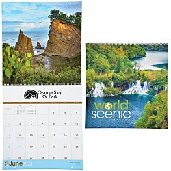 View a larger, more detailed picture of the World Scenic Appointment Calendar