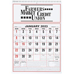 View a larger, more detailed picture of the Almanac Wall Calendar - 17 x 11