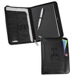 View a larger, more detailed picture of the Wenger Refillable Jr Portfolio Set - Debossed