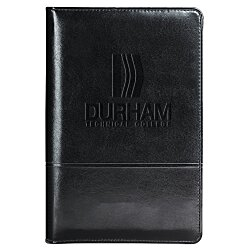 View a larger, more detailed picture of the Windsor Zippered Jr Padfolio - Debossed