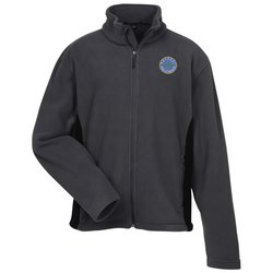 View a larger, more detailed picture of the Crossland Colorblock Fleece Jacket - Men s