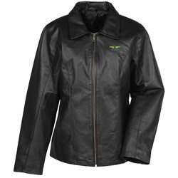 View a larger, more detailed picture of the Burk s Bay Napa Leather Jacket - Ladies