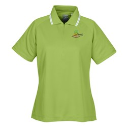 View a larger, more detailed picture of the Page & Tuttle Cool Swing Tipped Polo - Ladies