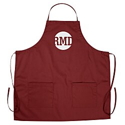 View a larger, more detailed picture of the BBQ Apron with Pockets - Color