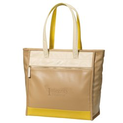 View a larger, more detailed picture of the Isaac Mizrahi Sloan Laptop Tote