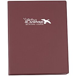 View a larger, more detailed picture of the Master Presentation Folder - 10 Pocket