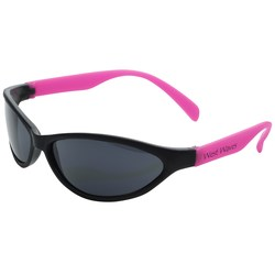 View a larger, more detailed picture of the Tropical Wrap Sunglasses - Closeout