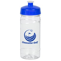 View a larger, more detailed picture of the Clear Impact Cyclone Sport Bottle - 16 oz - 24 hr