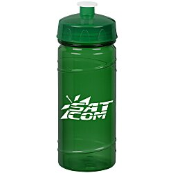 View a larger, more detailed picture of the PolySure Cyclone Sport Bottle - 16 oz - Translucent - 24 hr