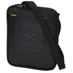 View a larger, more detailed picture of the Disrupt Recycled Tablet Sleeve Messenger - 24 hr