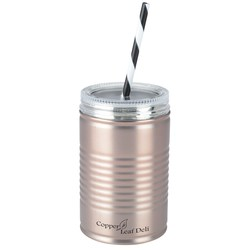 View a larger, more detailed picture of the I Can Stainless Tumbler with Straw - 18 oz