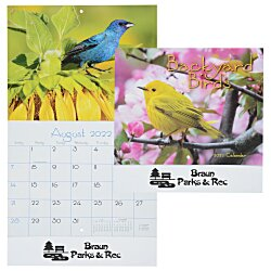 View a larger, more detailed picture of the Backyard Birds Appointment Calendar - Stapled