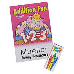 View a larger, more detailed picture of the Color & Learn Activity Fun Pack - Addition