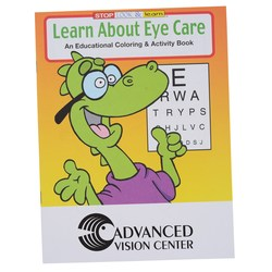 View a larger, more detailed picture of the Learn About Eye Care Coloring Book