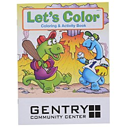 View a larger, more detailed picture of the Let s Color Coloring Book