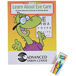 View a larger, more detailed picture of the Fun Pack - Learn About Eye Care