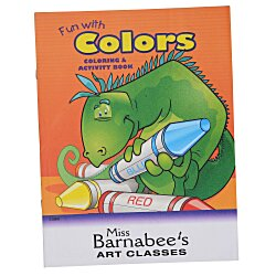 View a larger, more detailed picture of the Color & Learn Book - Colors