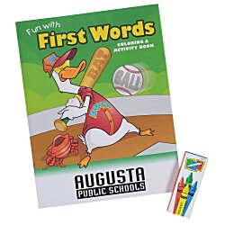 View a larger, more detailed picture of the Color & Learn Fun Pack - First Words