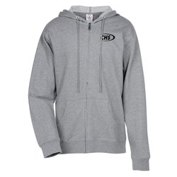 View a larger, more detailed picture of the French Terry Fashion Full Zip Hoodie