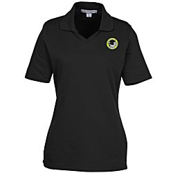 View a larger, more detailed picture of the Quick Dry Pique Polo - Ladies