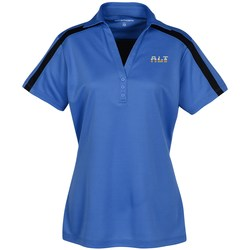 View a larger, more detailed picture of the Silk Touch Sport Colorblock Polo - Ladies