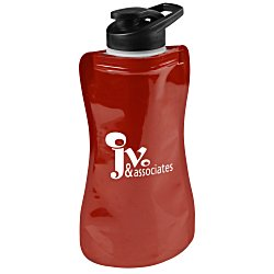 View a larger, more detailed picture of the Wide-Mouth Flip-Top Flexi Bottle - 32 oz