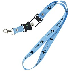 View a larger, more detailed picture of the Lanyard USB Drive - 128MB