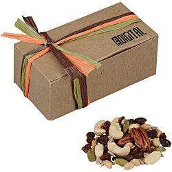 View a larger, more detailed picture of the Natural Kraft Box - Deluxe Trail Mix