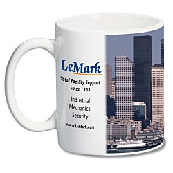 View a larger, more detailed picture of the White Mug - 11 oz - Full Color Process