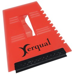 View a larger, more detailed picture of the Visor-Clip Squeegee-Scraper - Closeout