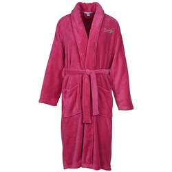 View a larger, more detailed picture of the Plush Shawl Collar Robe