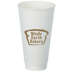 View a larger, more detailed picture of the Insulated Paper Travel Cup - 24 oz - Low Qty