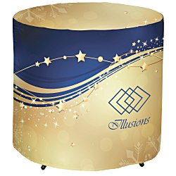 View a larger, more detailed picture of the Fitted Round Table Cover - 29 - Full-Color