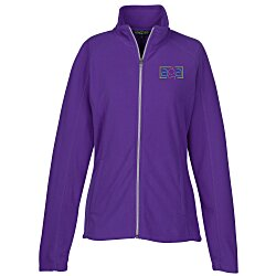 View a larger, more detailed picture of the Crossland Microfleece Jacket - Ladies
