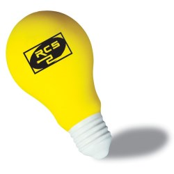 View a larger, more detailed picture of the Light Bulb Stress Reliever - Closeout