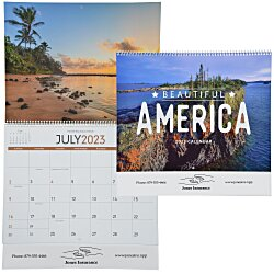 View a larger, more detailed picture of the Beautiful America Calendar