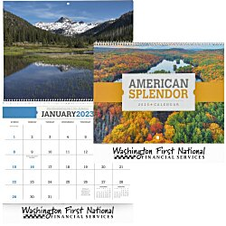 View a larger, more detailed picture of the American Splendor Calendar Spiral