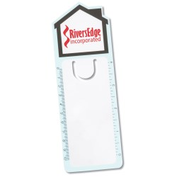 View a larger, more detailed picture of the Magnifier Bookmark Ruler - House