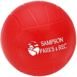 View a larger, more detailed picture of the Mini Vinyl Volleyball - 4-1 4
