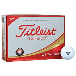 View a larger, more detailed picture of the Titleist DT TruSoft Golf Ball - Dozen - Standard