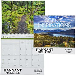View a larger, more detailed picture of the Scenic Inspirations Calendar