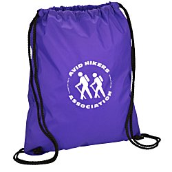 View a larger, more detailed picture of the Sport Drawstring Backpack