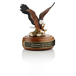 View a larger, more detailed picture of the Paramount Porcelain Eagle Award