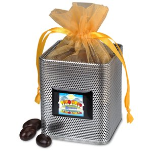 Desk Caddy - Mesh - Dark Chocolate Almonds