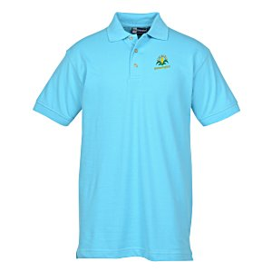 Blue Generation Superblend Pique Polo - Men's
