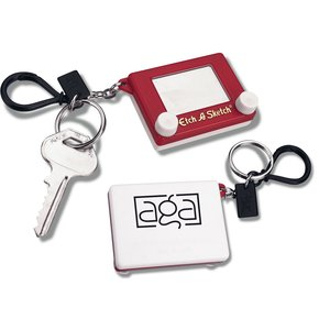 Etch a Sketch Key Chain