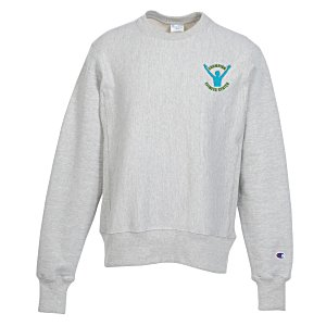 Champion Reverse Weave 12 oz. Crew Sweatshirt - Embroidered Main Image